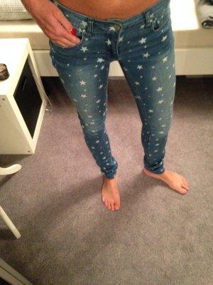 Only-Jeansröhre mit Sternen Gr. 25/32