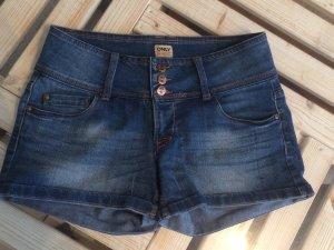 Only Denim Shorts dark blue cotton