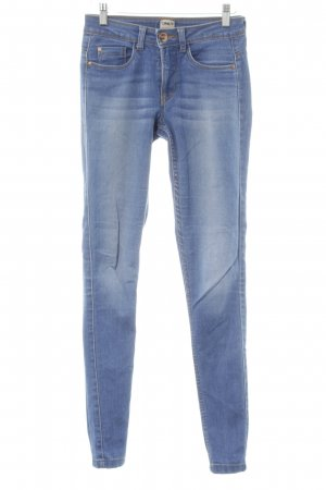 Only Jeggings kornblumenblau Jeans-Optik