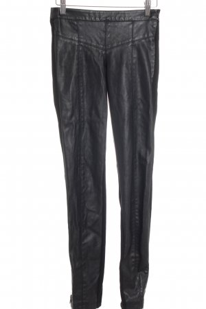 Only Jeggings schwarz Biker-Look