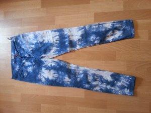 Only Jeggins Blau-Weiß Größe 30/30