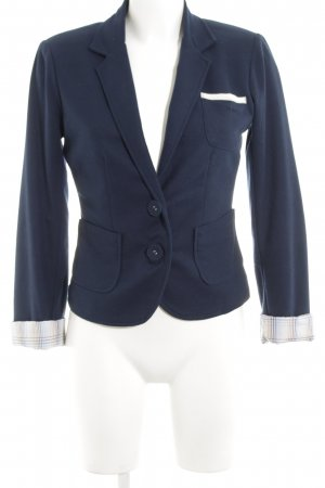Only Jerseyblazer neonblau Business-Look
