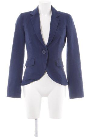 Only Jerseyblazer blau Business-Look