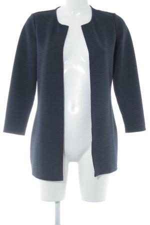 Only Jersey Blazer azul oscuro estampado a rayas estilo «business»