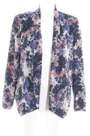 Only Jersey blazer kleurvlekken patroon extravagante stijl