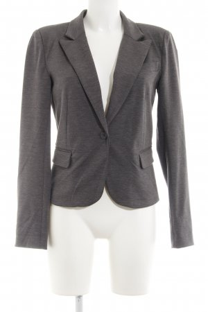 Only Jerseyblazer grau meliert Business-Look
