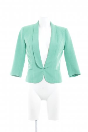 Only Jerseyblazer grün Business-Look