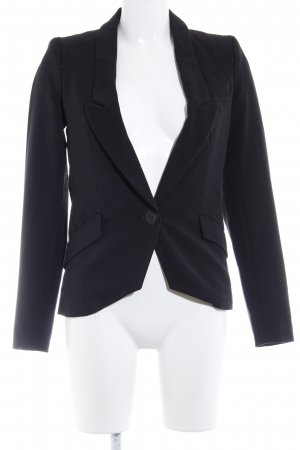 Only Jerseyblazer schwarz Business-Look