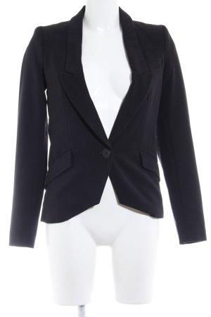Only Jersey blazer zwart zakelijke stijl