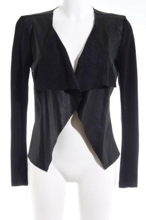 Only Jerseykleid schwarz-grau Elegant