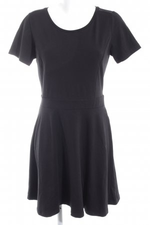 Only Jersey Dress black simple style