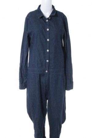 Only Jumpsuit dunkelblau Jeans-Optik