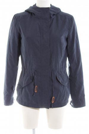 Only Kapuzenjacke blau Casual-Look