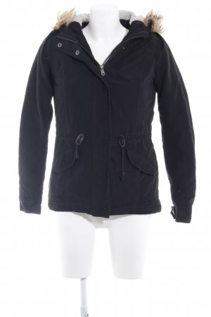 Only Kapuzenjacke schwarz Casual-Look
