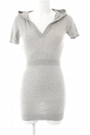 Only Hooded Dress light grey street-fashion look