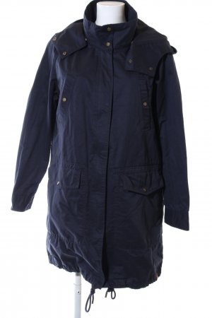 Only Hooded Coat blue casual look