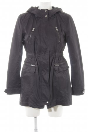 Only Hooded Coat anthracite casual look