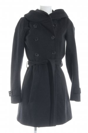 Only Hooded Coat anthracite street-fashion look