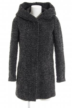 Only Hooded Coat black-grey casual look