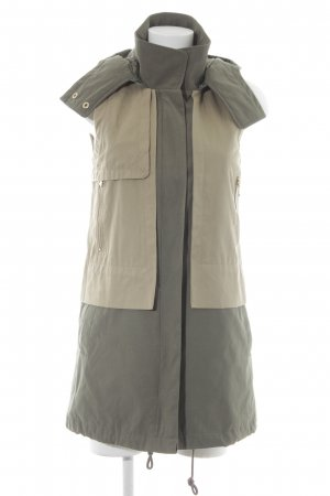 Only Capuchon vest beige-khaki casual uitstraling