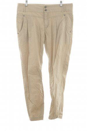 Only Peg Top Trousers natural white casual look