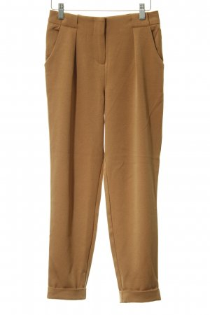 Only Pantalone peg-top cognac stile casual