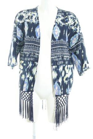 Only Kimono motif abstrait style décontracté