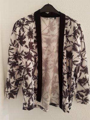Only Kimono Blazer mit Palmen