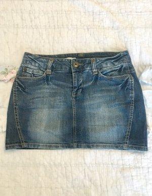 ONLY klassischer Jeans Rock Jeansrock blau Gr 36