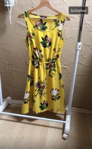 ONLY Kleid Gelb Blumen