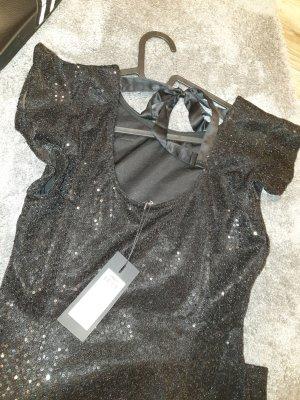 Only Robe à paillettes noir