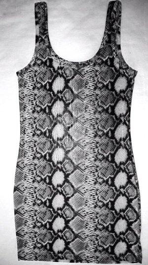 """""""ONLY"""" Kleid im Schlangen Design in Grau Bedruckt/ Gr. xs"""
