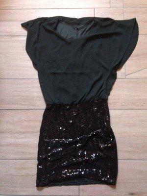 Only Kleid mit Paillettenrock Größe 36 schwarz