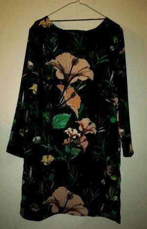 Only Vestido tipo túnica multicolor tejido mezclado