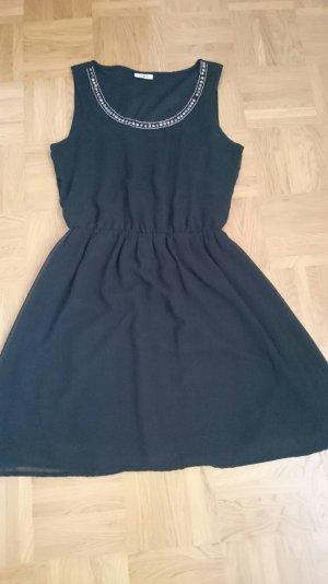 Only Kleid, schwarz, basic Gr M