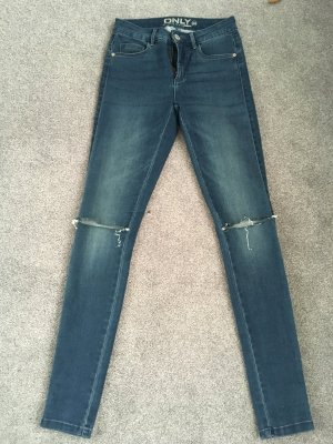 Only Kneecut Regular blau Gr. XS/30