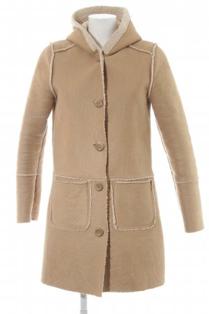 Only Kunstfellmantel camel-creme Casual-Look