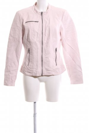 Only Kunstlederjacke pink Casual-Look