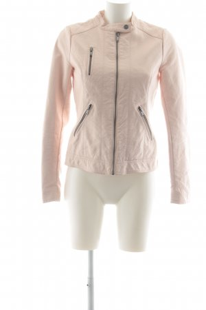Only Giacca in ecopelle rosa pallido stile casual