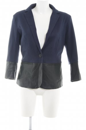 Only Kurz-Blazer schwarz-blau Business-Look