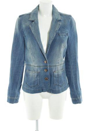 Only Kurz-Blazer blau Casual-Look