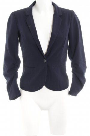 Only Kurz-Blazer dunkelblau-blau Business-Look