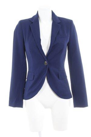Only Kurz-Blazer dunkelblau schlichter Stil