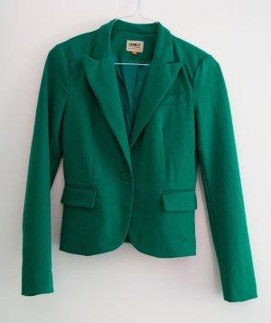 Only Kurz-Blazer grün