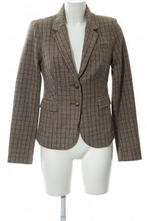 Only Kurz-Blazer Hahnentrittmuster Casual-Look