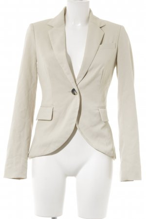 Only Kurz-Blazer hellbeige-creme Business-Look