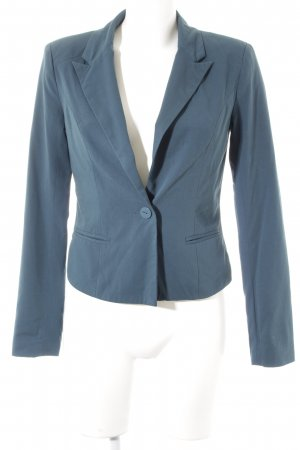 Only Kurz-Blazer petrol Casual-Look