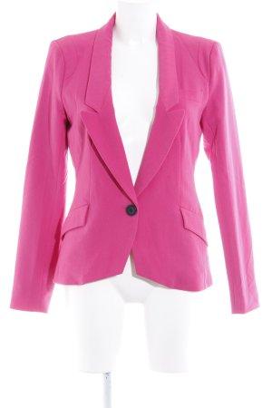 Only Kurz-Blazer pink schlichter Stil