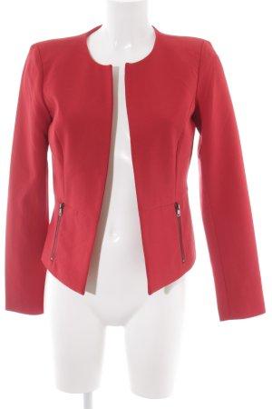 Only Kurz-Blazer rot klassischer Stil