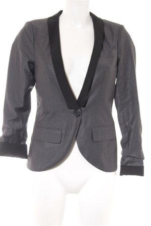 Only Kurz-Blazer schwarz-grau Elegant